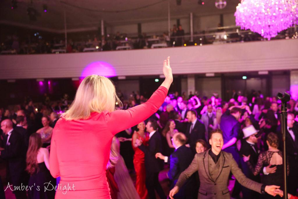 Partyband Amber's Delight bei einem Tanzball in Düsseldorf, super Stimmung