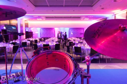 Band, Frankfurt Sofitel Ballsaal, Schlagzeug