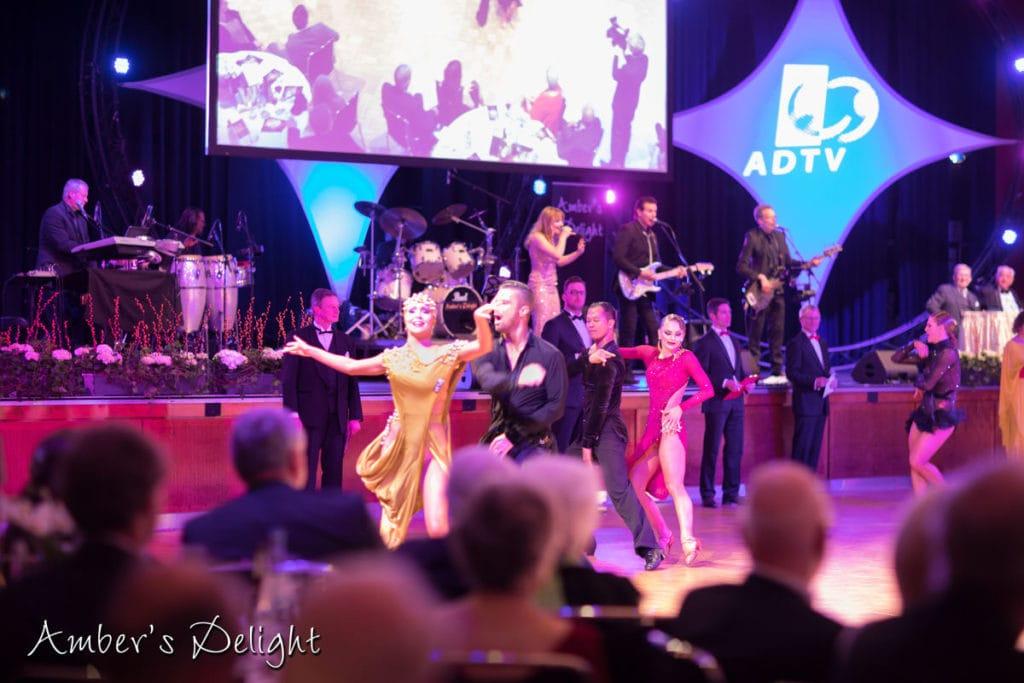 Tanzturnier bei der Intako Open, Bernd Hoermann Trophy 13.04.2019 mit Amber's Delight, Profi Band aus NRW