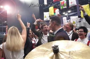 Partyband Ambers Delight aus Koeln Party Stimmung bei Firmenfeier