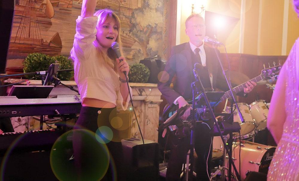 Liveband mit Musik bei einer Kölner Hochzeit