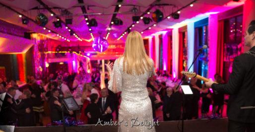 Live Band Silvester Tanzmusik Tanzendes Publikum