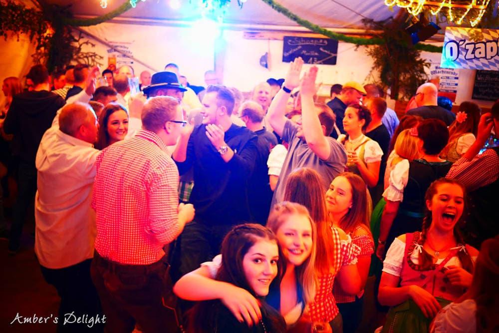 Partyband Amber'sdelight Zuschauer Bornheim