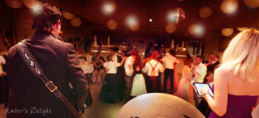 Hochzeit in Hennef, unsere Partyband mit Tanzmusik